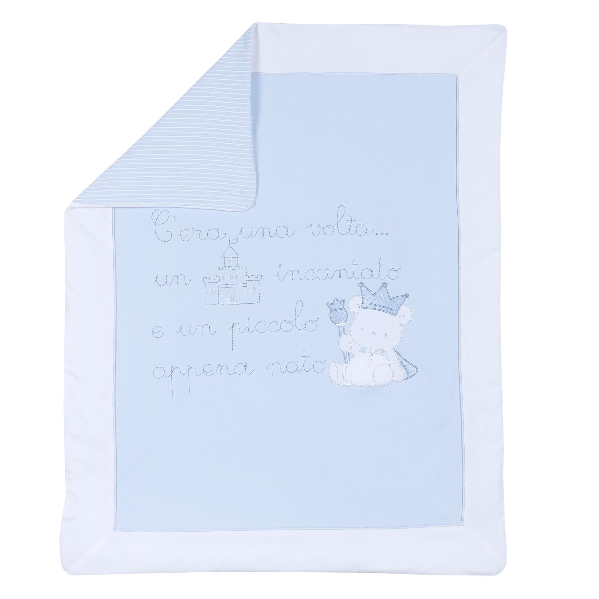 Paturica Bebe Chicco Landou, Husa Detasabila, Albastru, 10203 imagine