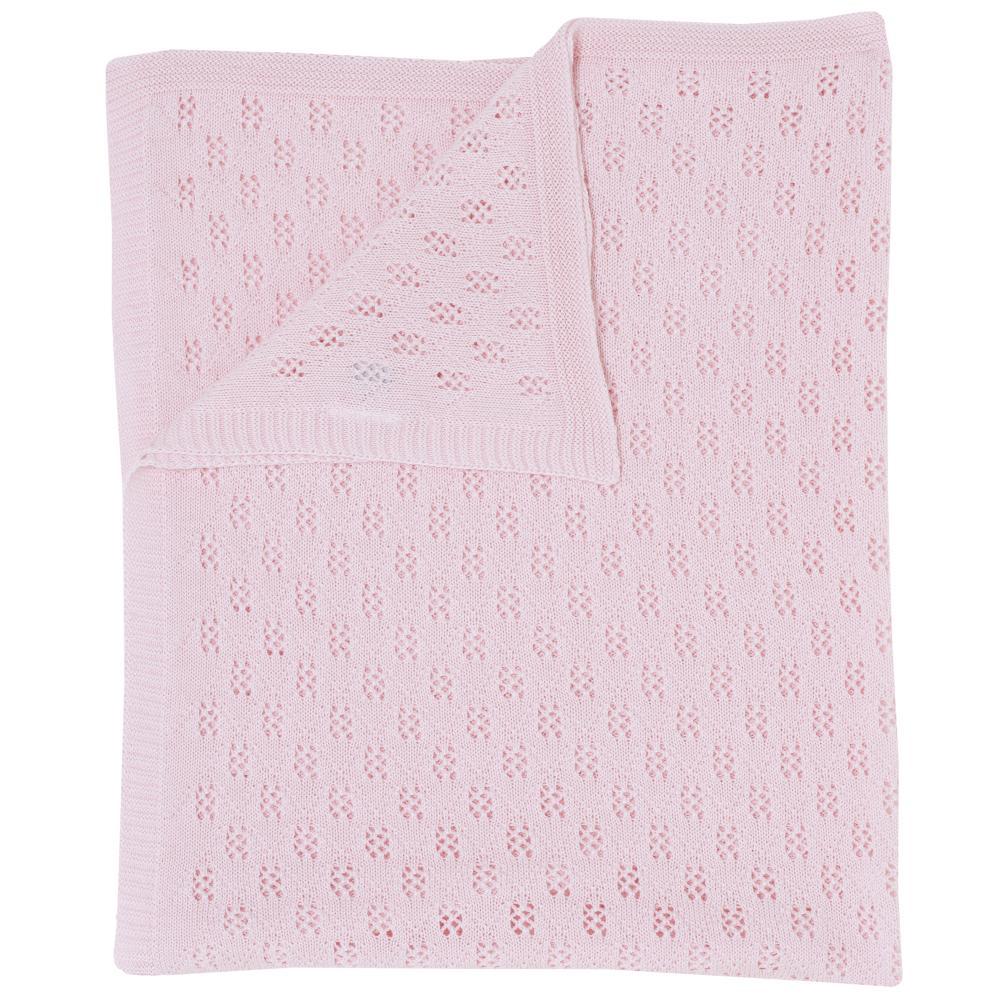 paturica tricotata landou chicco, roz