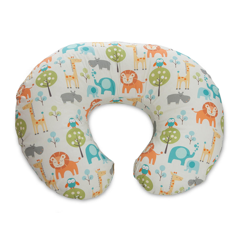 Perna alaptare Chicco Boppy 4 in 1 Peaceful Jungle