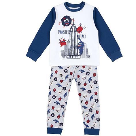 Pijama copii Chicco, 31363-61MCU, Alb