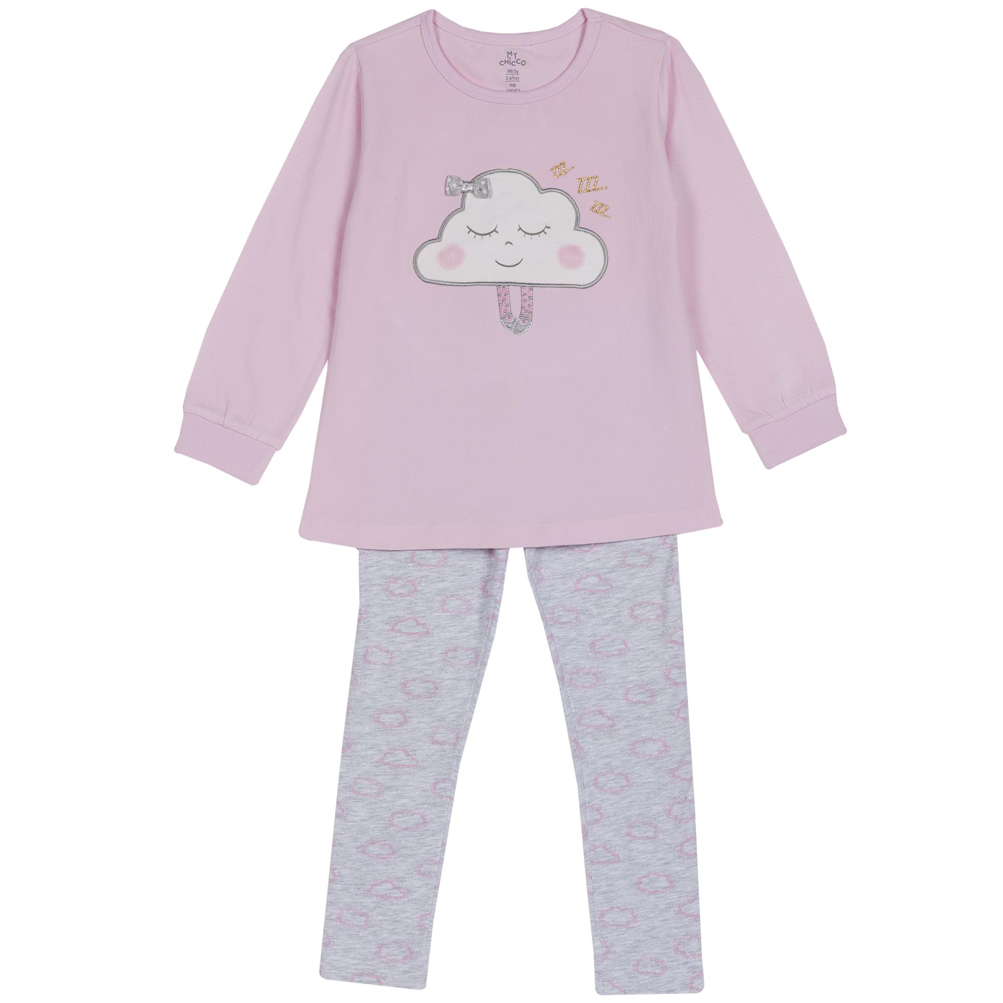Pijama copii Chicco roz 104
