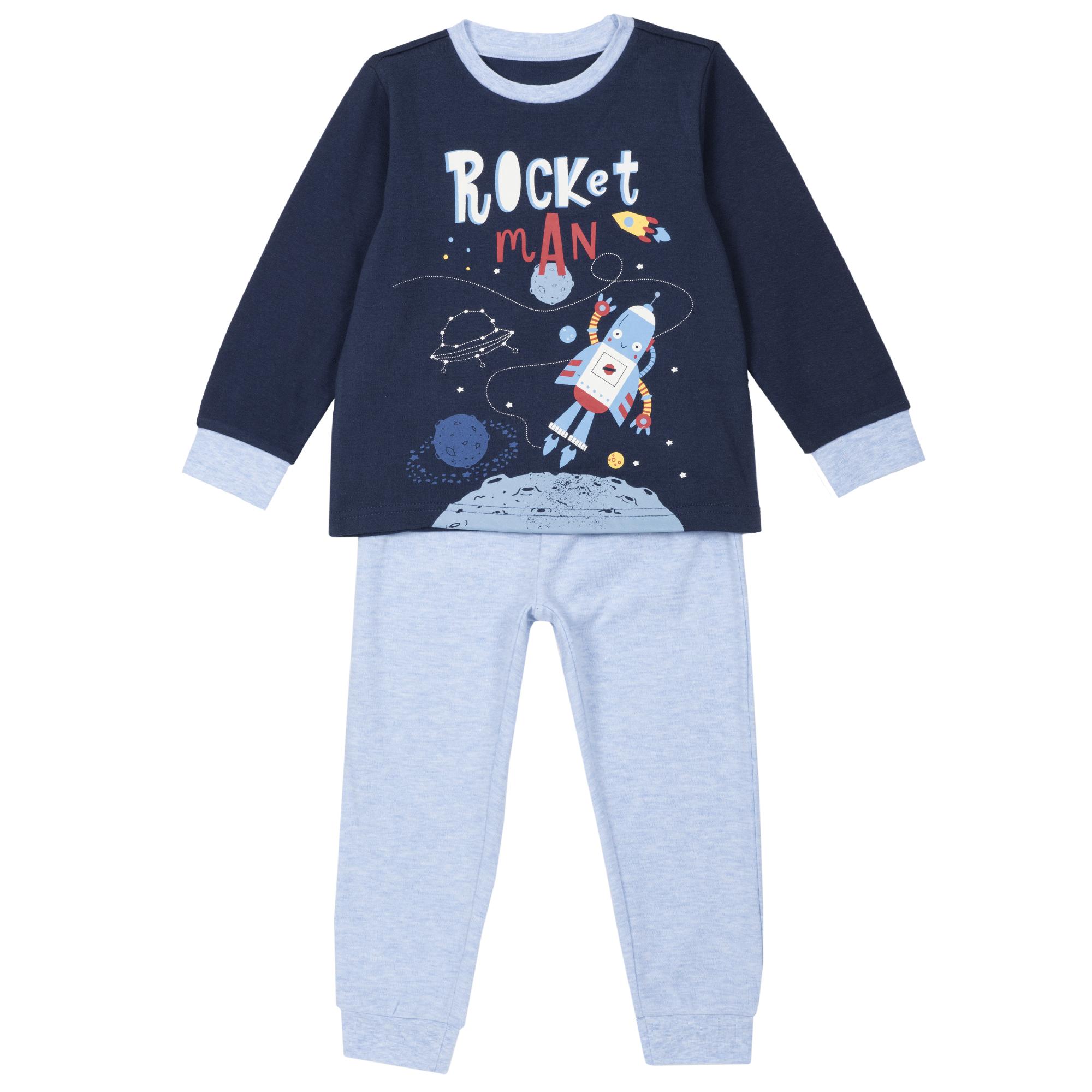 Pijamale copii Chicco albastru 128