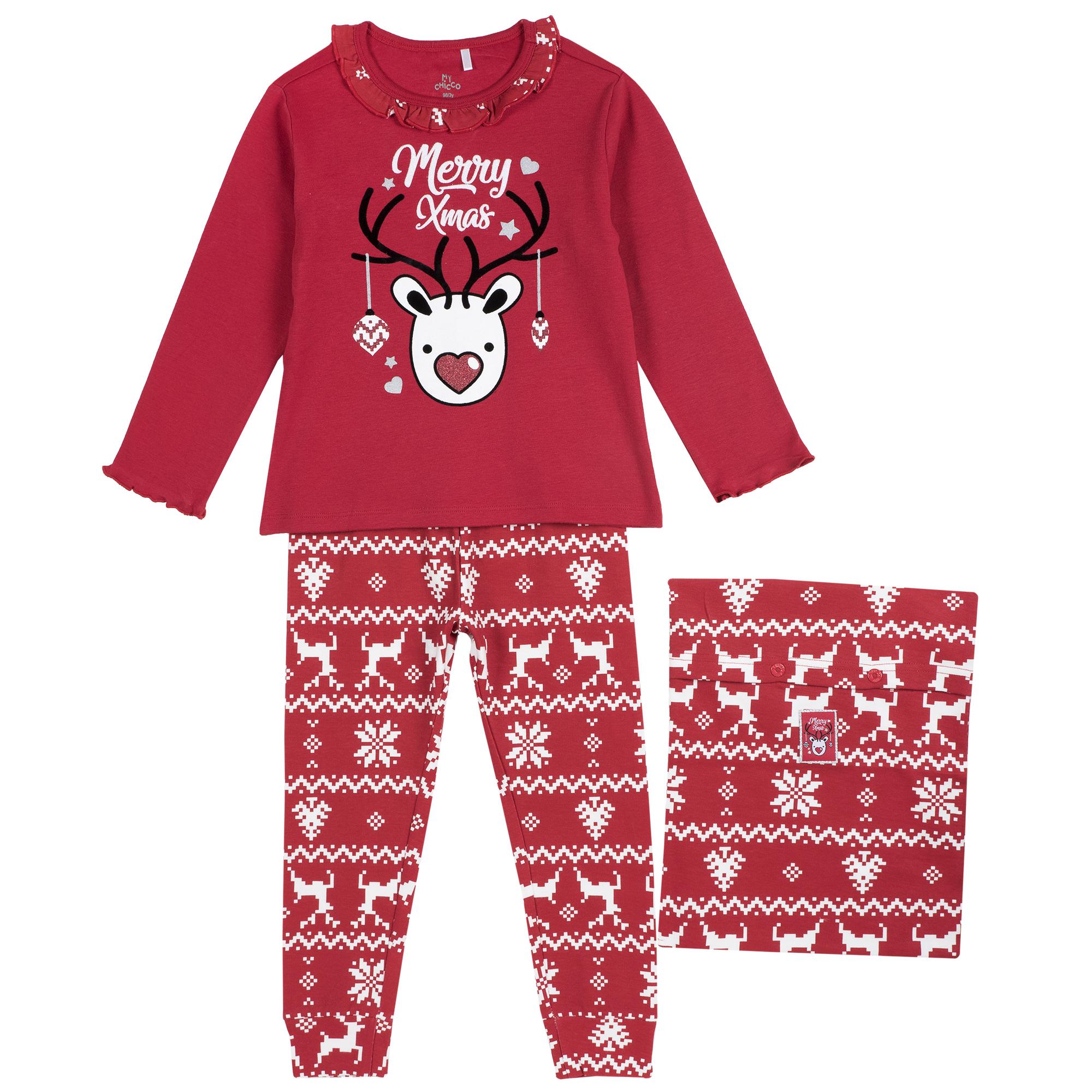 Pijama Copii Chicco, Motive Sarbatoare, 31288 imagine