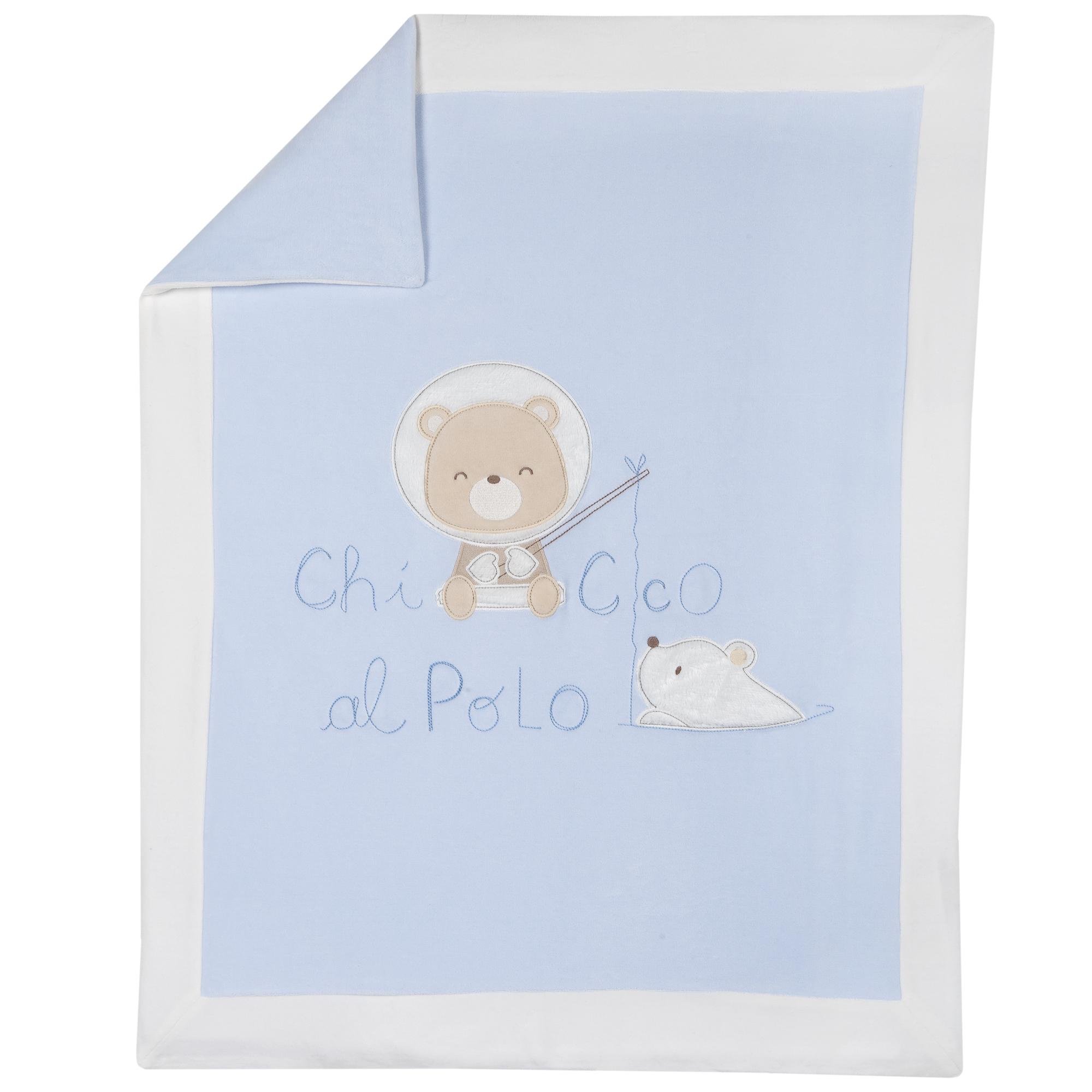 Plapuma Bebe Chicco, Albastru Cu Roz, 05104 imagine