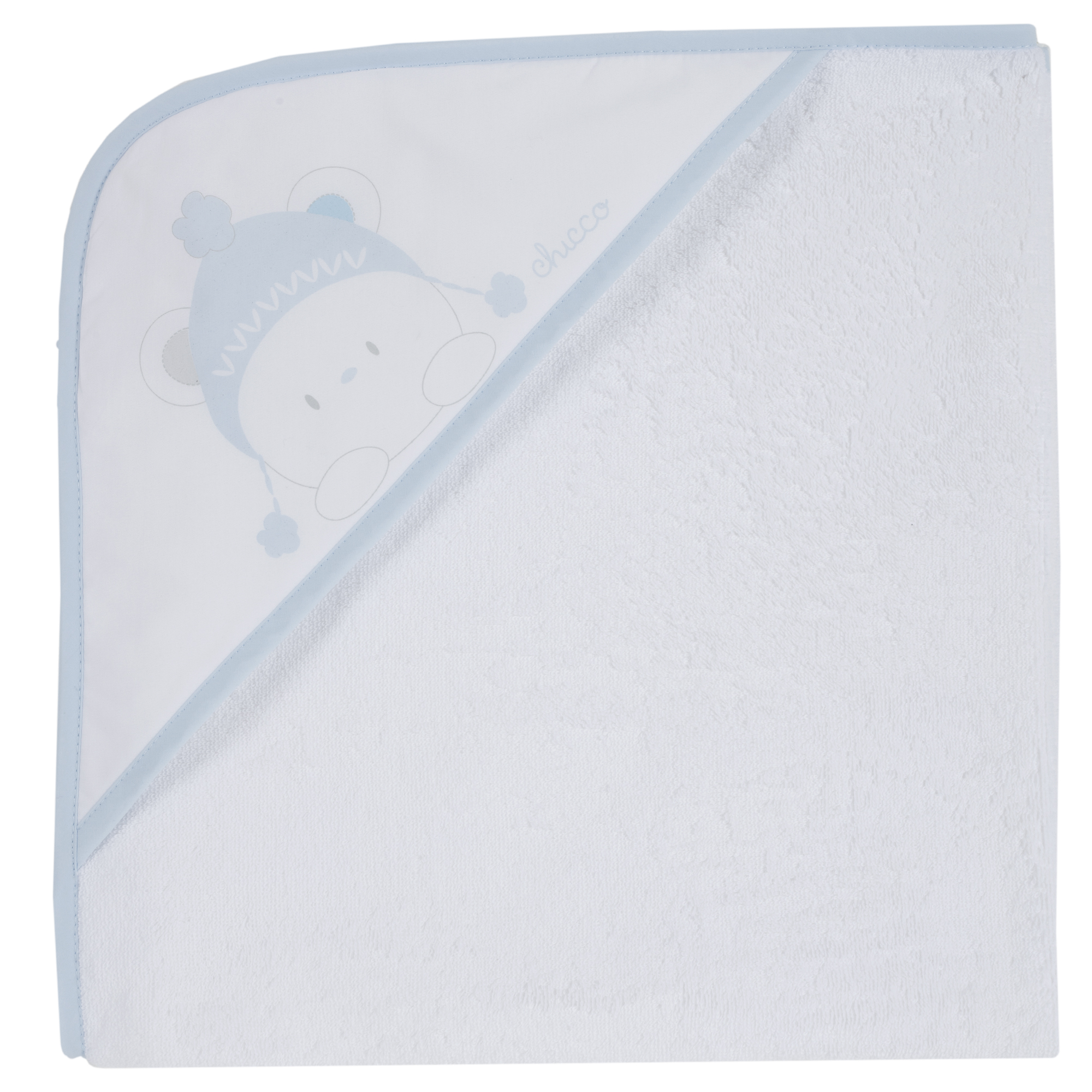Prosop baie bebelusi Chicco alb cu albastru 99