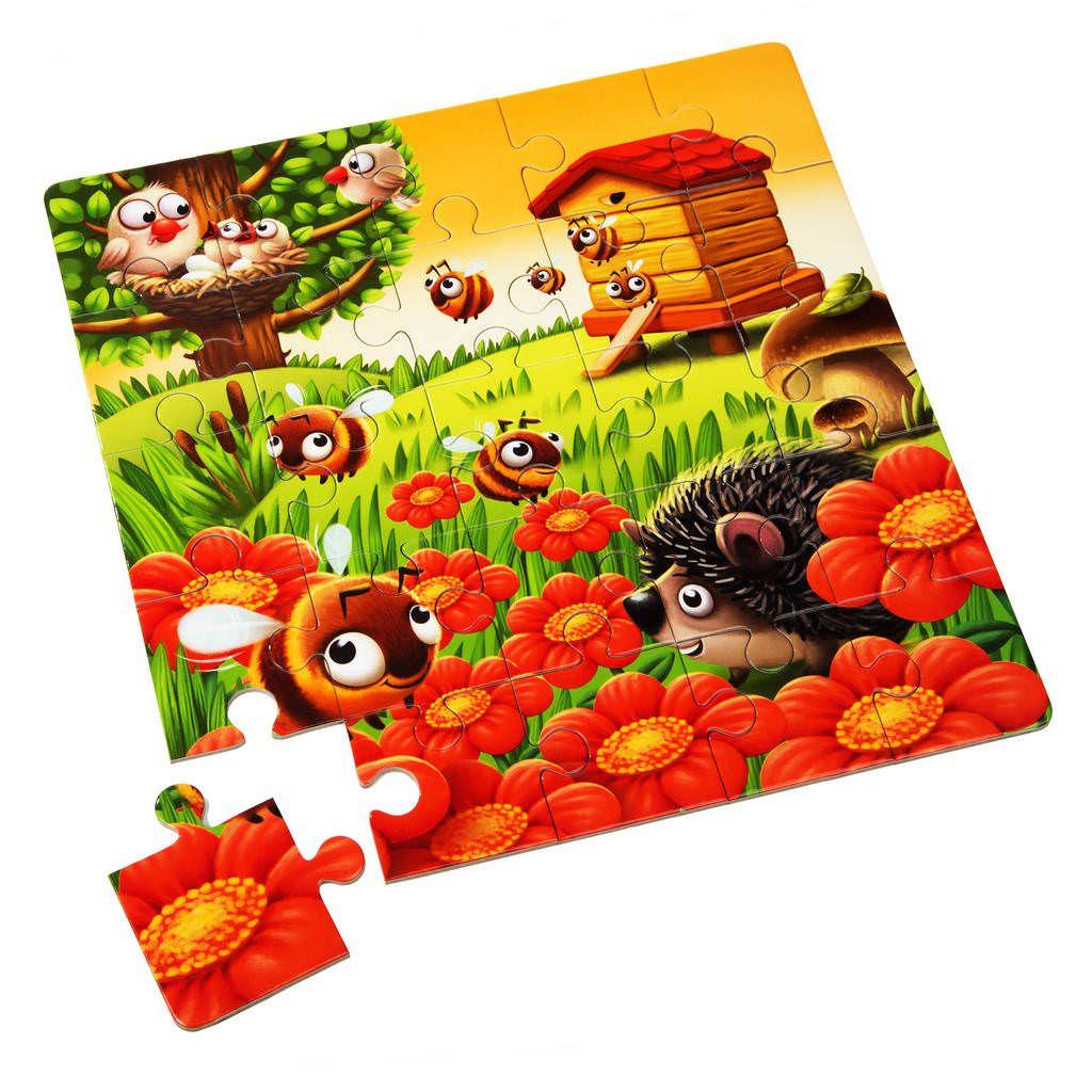 Puzzle 3 In 1 Cubika Animalutele Preferate imagine