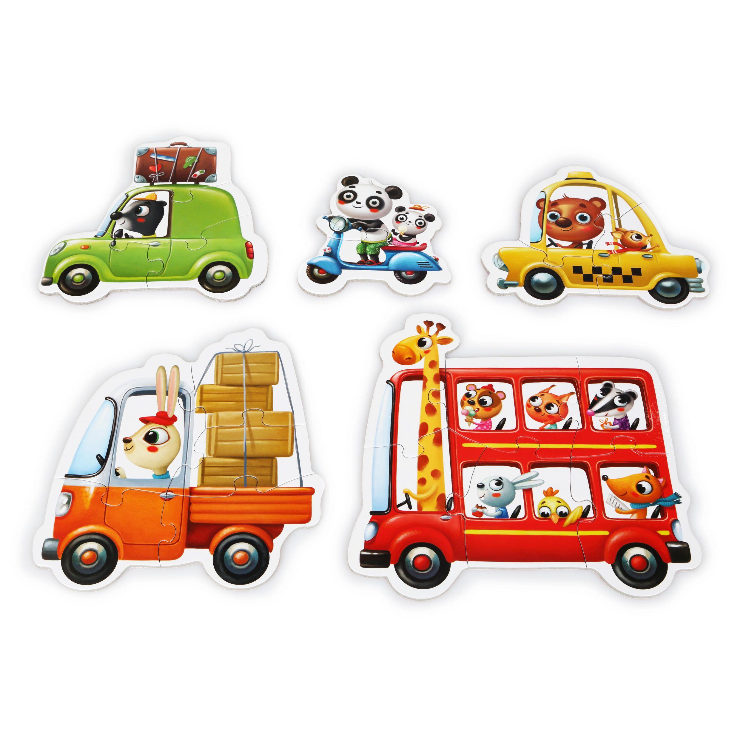 Puzzle Cubika, Masinutele Cu Prieteni imagine