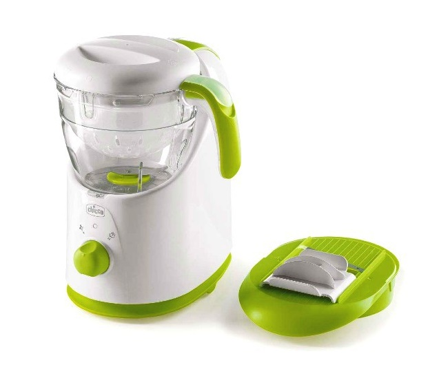 Robot de bucatarie Chicco gateste cu abur 0% BPA thumbnail