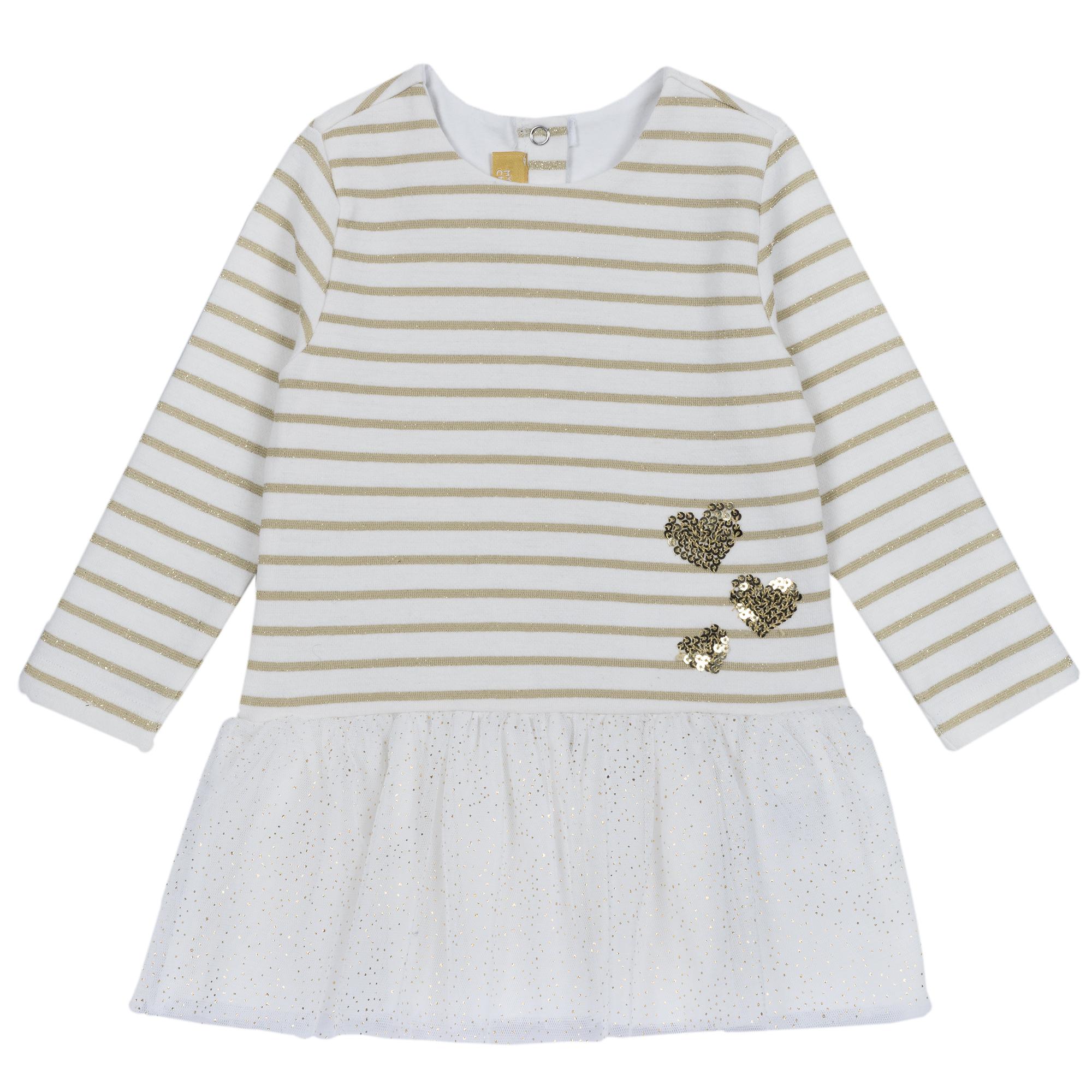 Rochie copii Chicco, alb