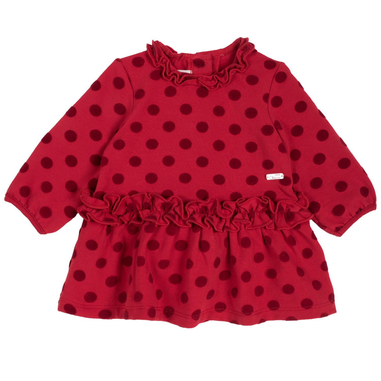 Rochie copii Chicco, rosu