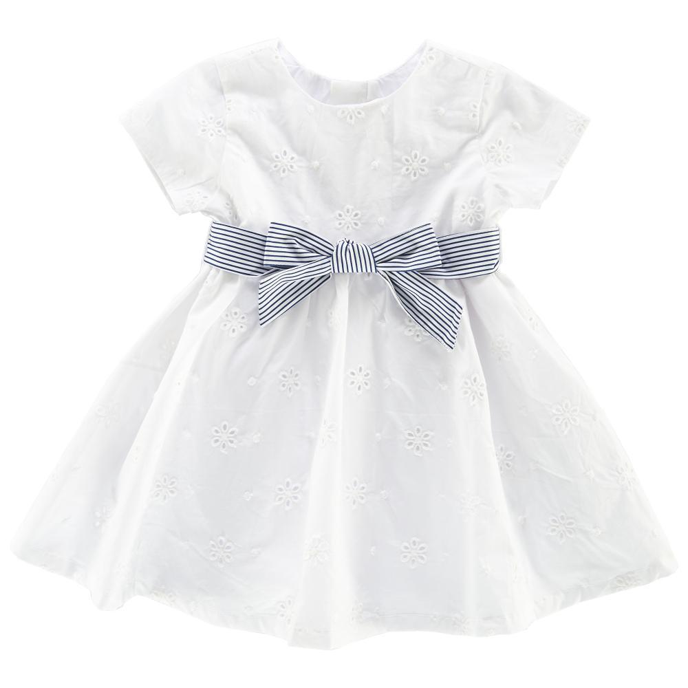rochie eleganta copii chicco, alb