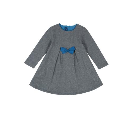 Rochie copii Chicco, fundita albastru royal, 03562 din categoria Rochii, Fuste