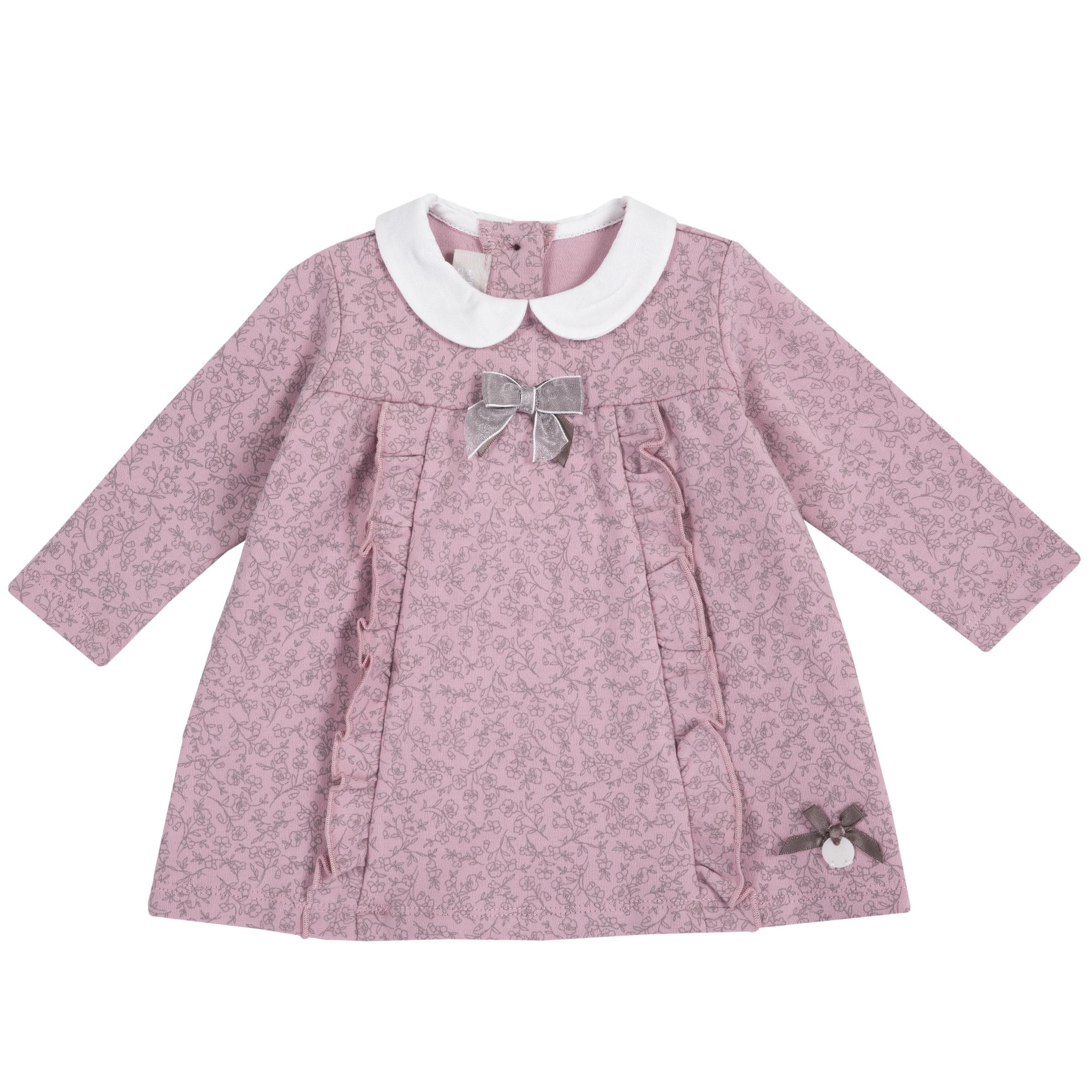 Rochie copii Chicco, jerse, corai, 03516