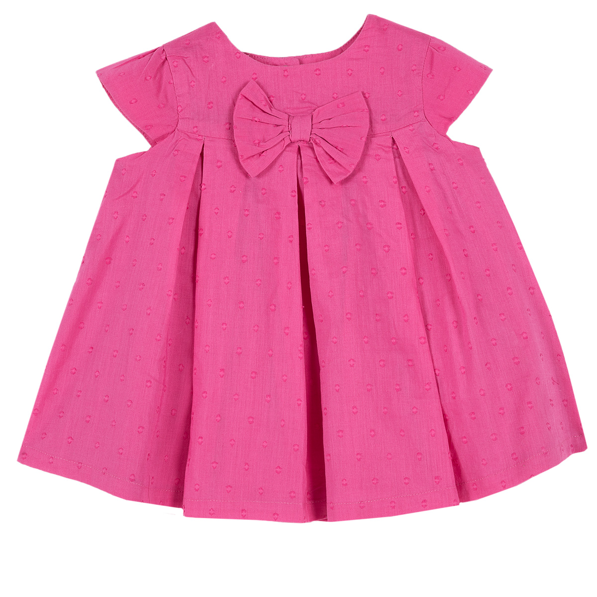 Rochita eleganta Chicco, maneca scurta, roz, 03448 din categoria Rochii, Fuste