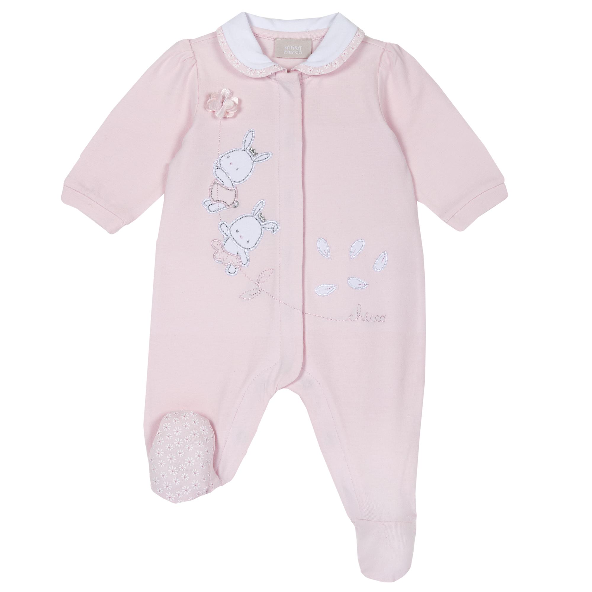 Salopeta Pentru Bebe Chicco, Botosei, Roz, 21943 imagine