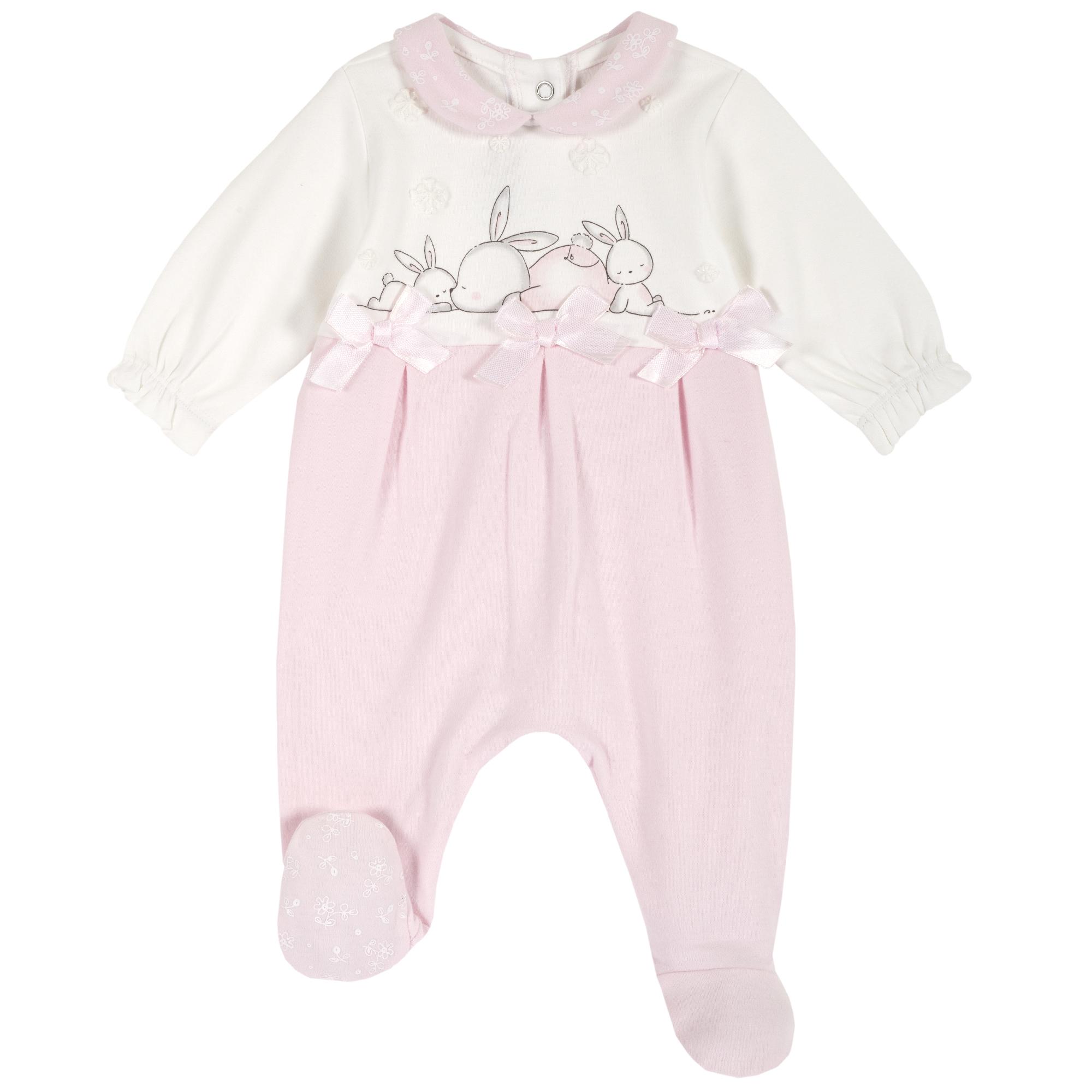 Salopeta bebe Chicco, botosei si fundite, roz, 21846