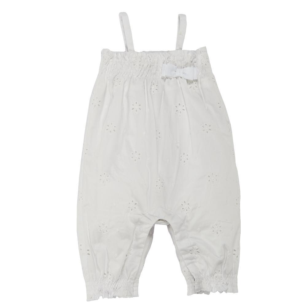 Salopeta bebelusi Chicco, alb