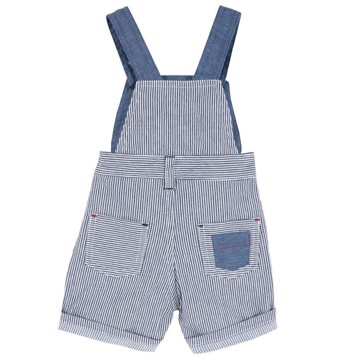 Pantalon scurt copii Chicco, albastru cu alb, 95580