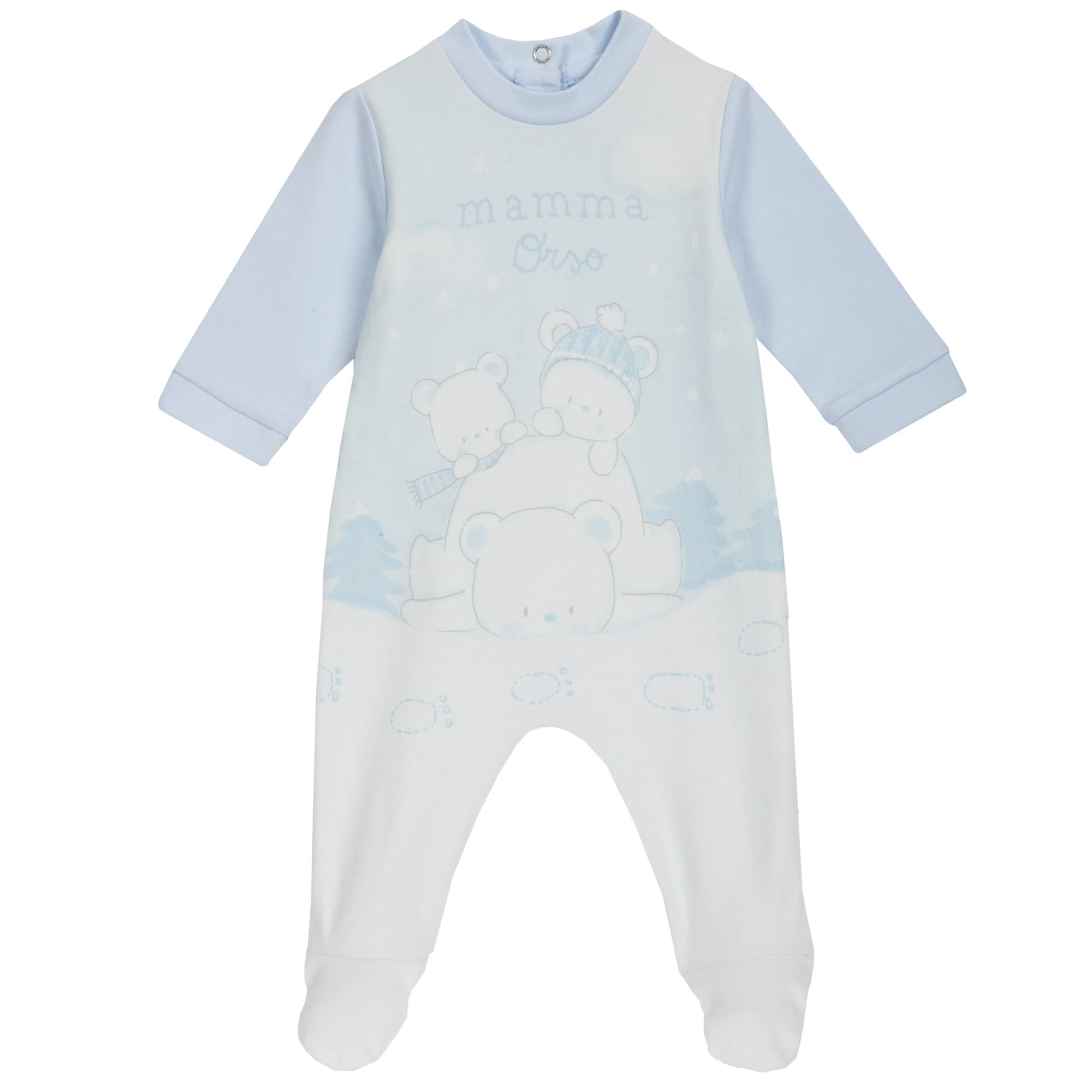 Salopeta copii Chicco, albastru cu roz din categoria Salopete/Body