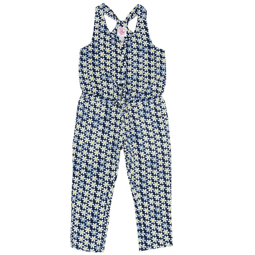 Salopeta copii Chicco, cu bretele, fete, albastru, 95524