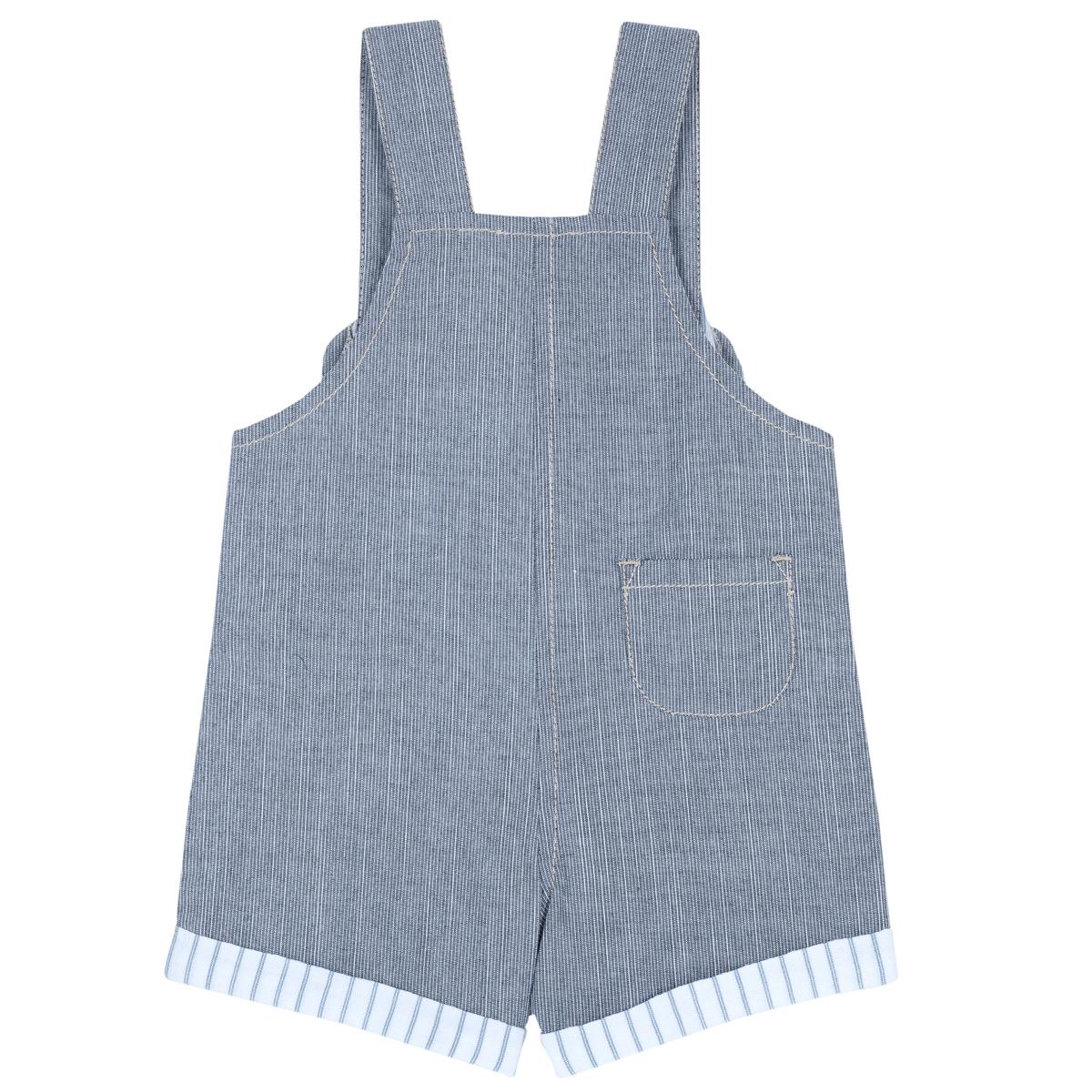 Pantalon Copii Chicco Gen Salopeta, Albastru, 45445 imagine