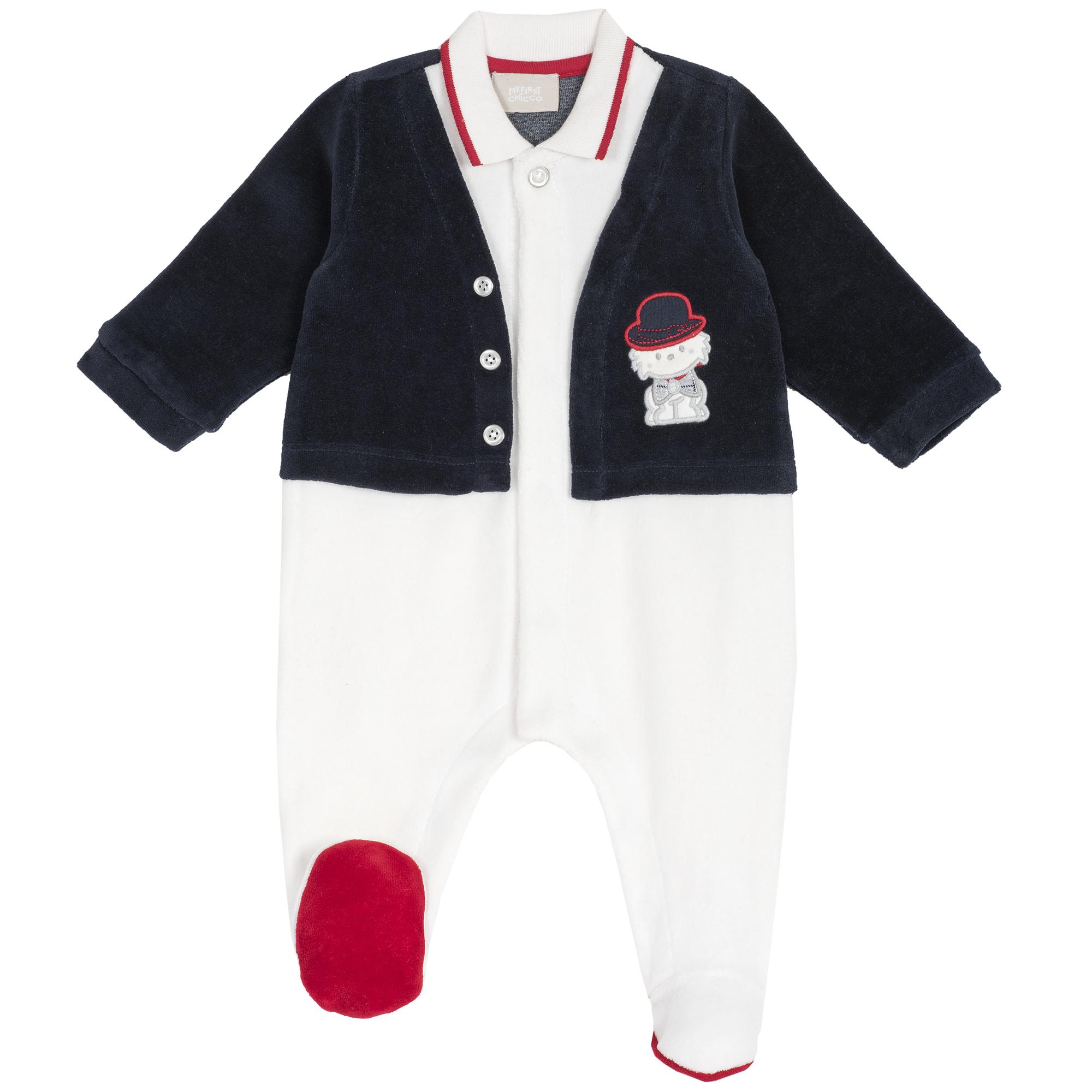 Salopeta copii Chicco, cu jacheta si guleras, 21900 din categoria Salopete/Body