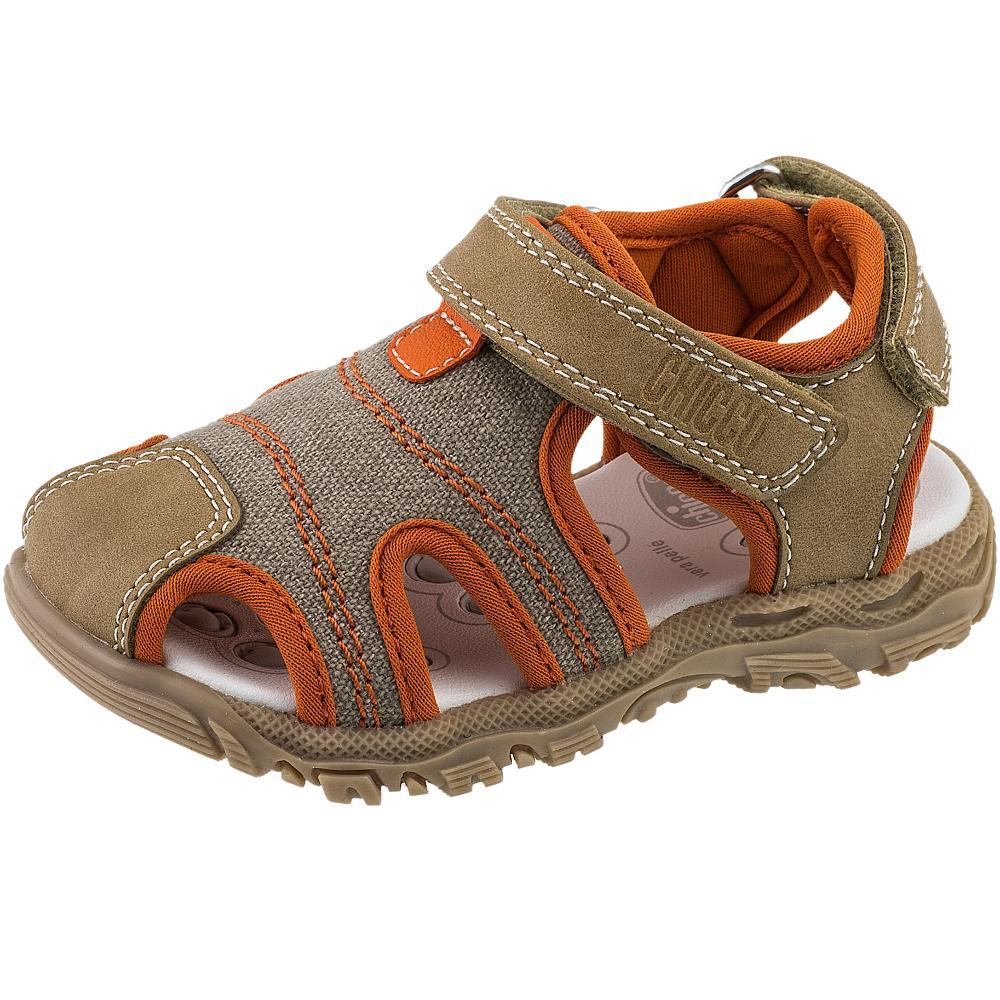 Sandalute copii Chicco, maro deschis