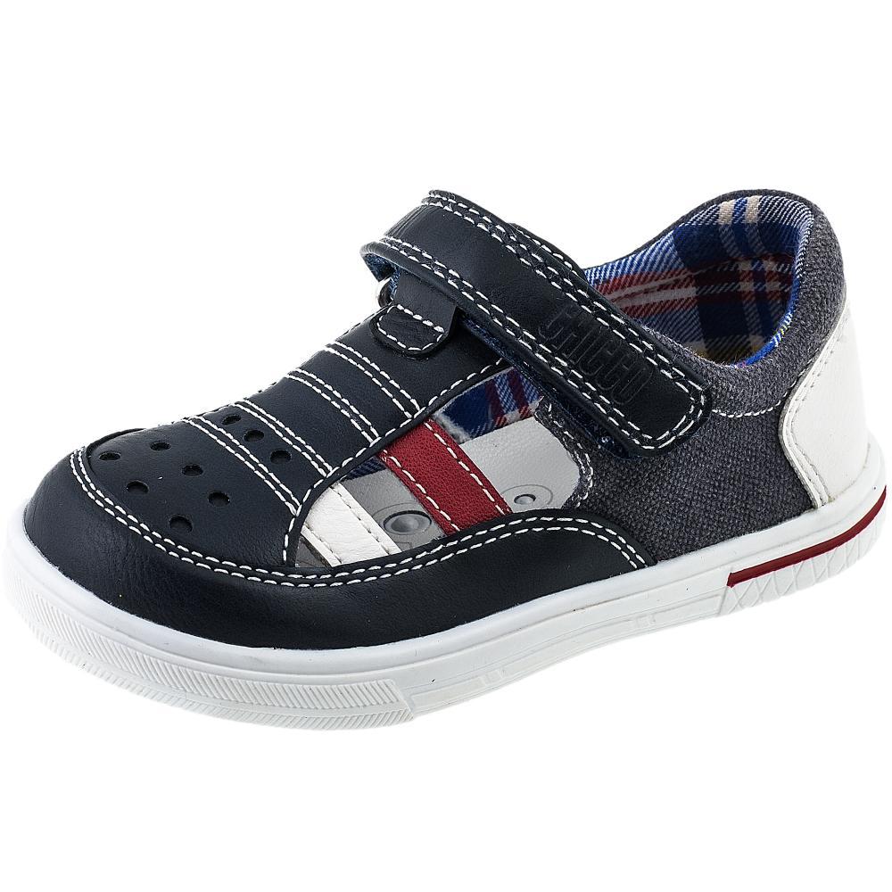 Sandale copii Chicco, baieti, bleumarin