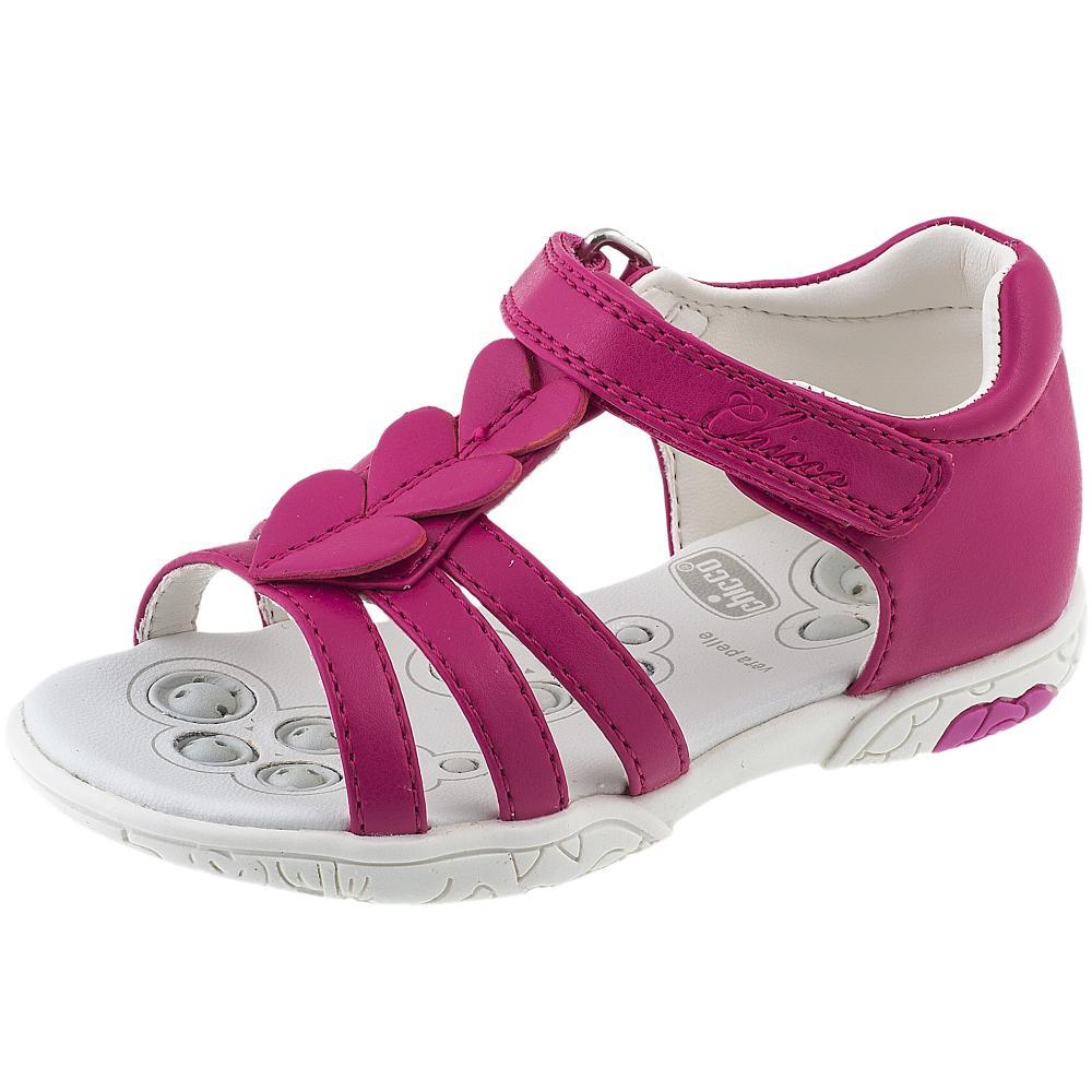 Sandalute pentru fete Chicco fuchsia 23