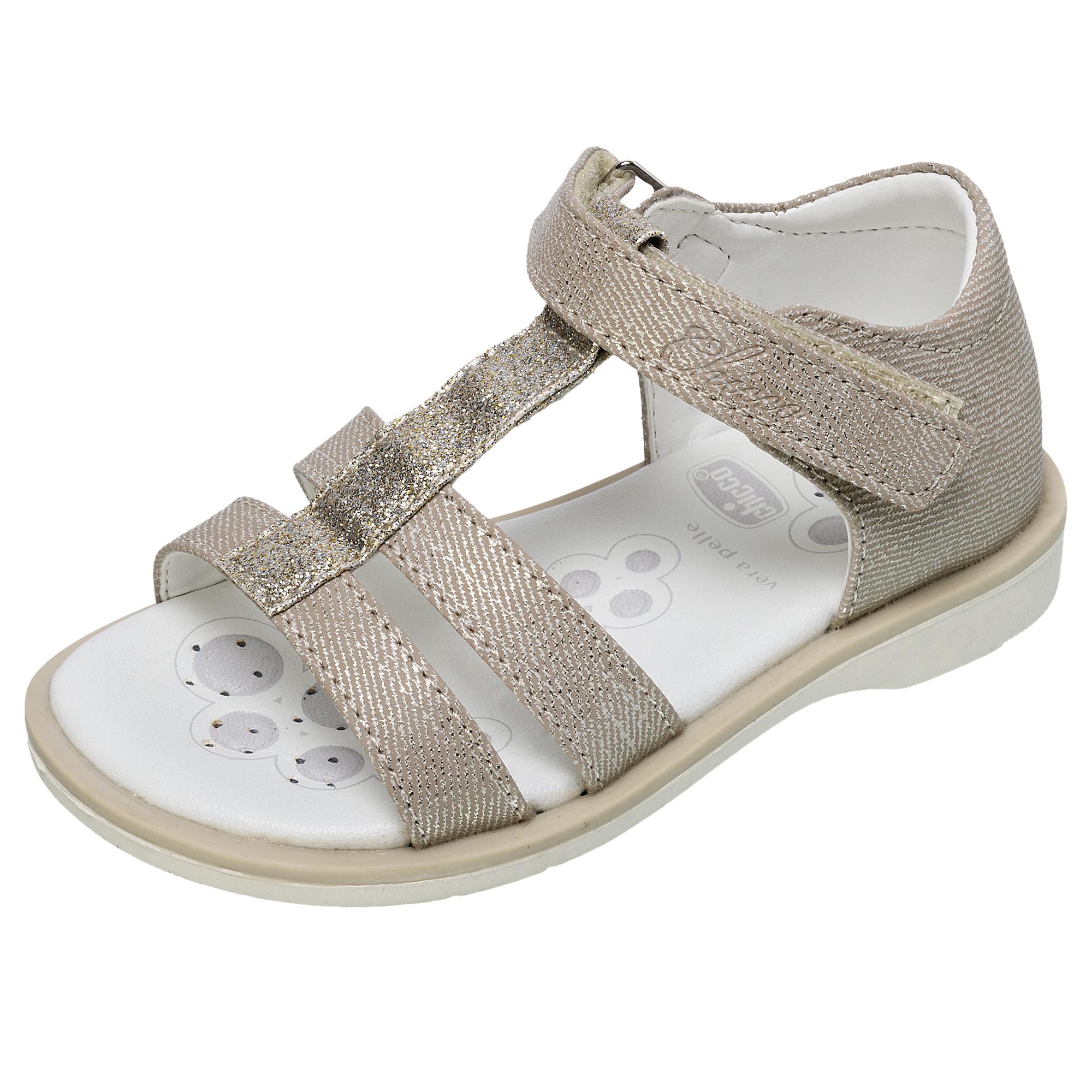 Sandale Copii Chicco Clivia, Auriu, 59584 imagine