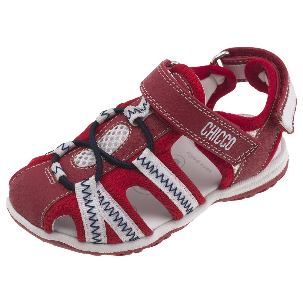 Sandale copii Chicco, rosu din categoria Sandale copii