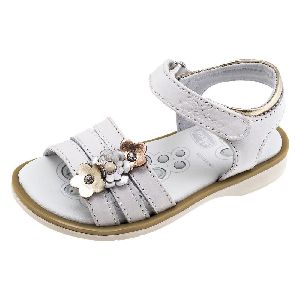 Sandale copii Chicco, alb, 59601