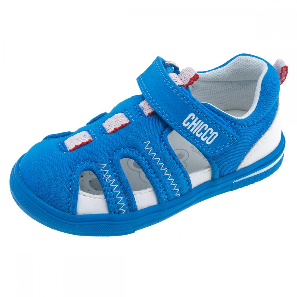 sandale copii chicco, albastru deschis