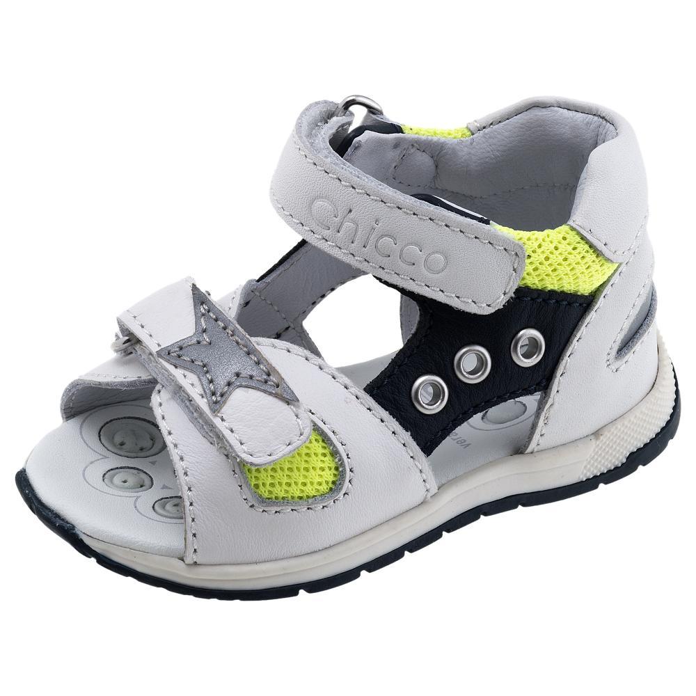 Sandale copii Chicco, alb din categoria Sandale copii