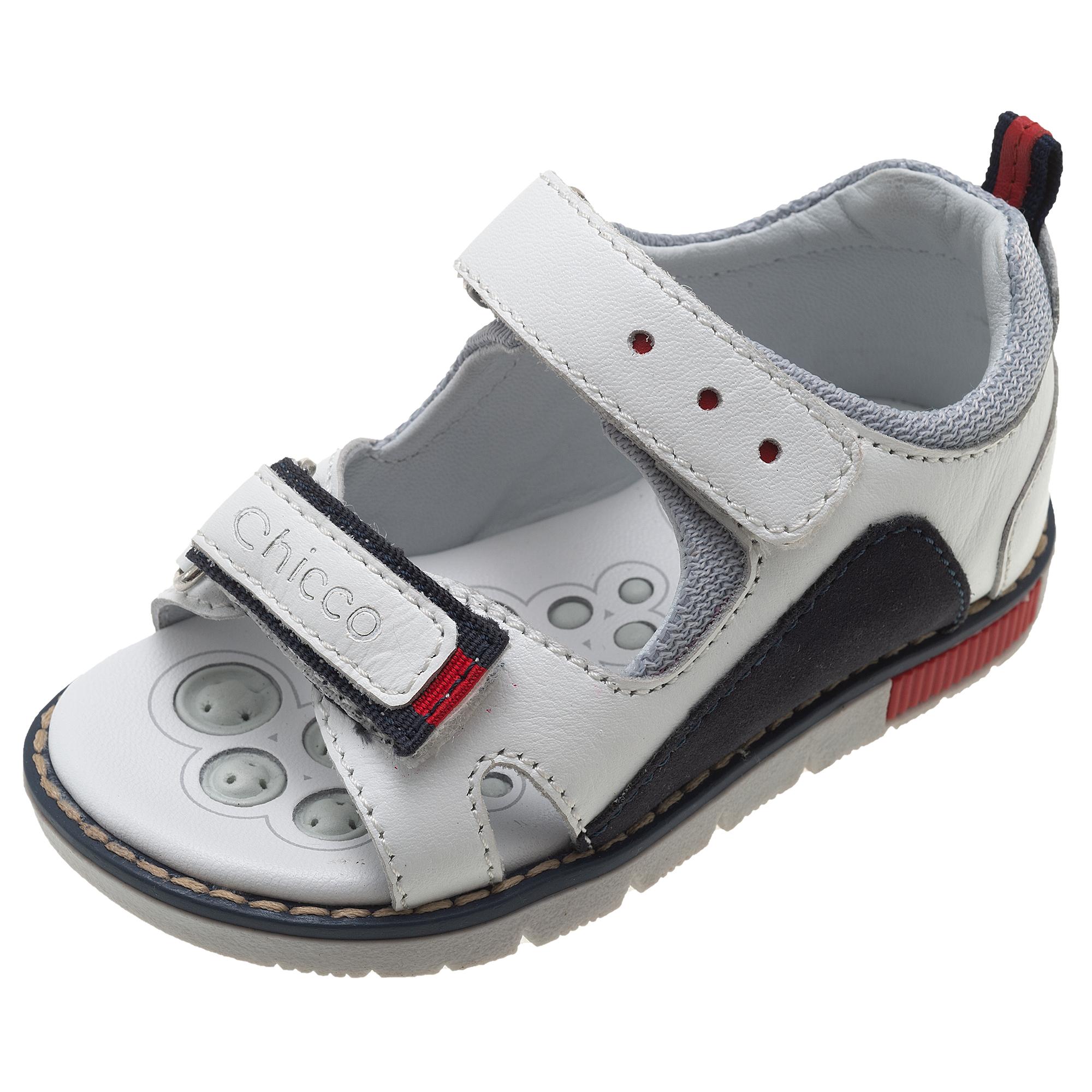 Sandale fetite Chicco Corsaro alb 61618