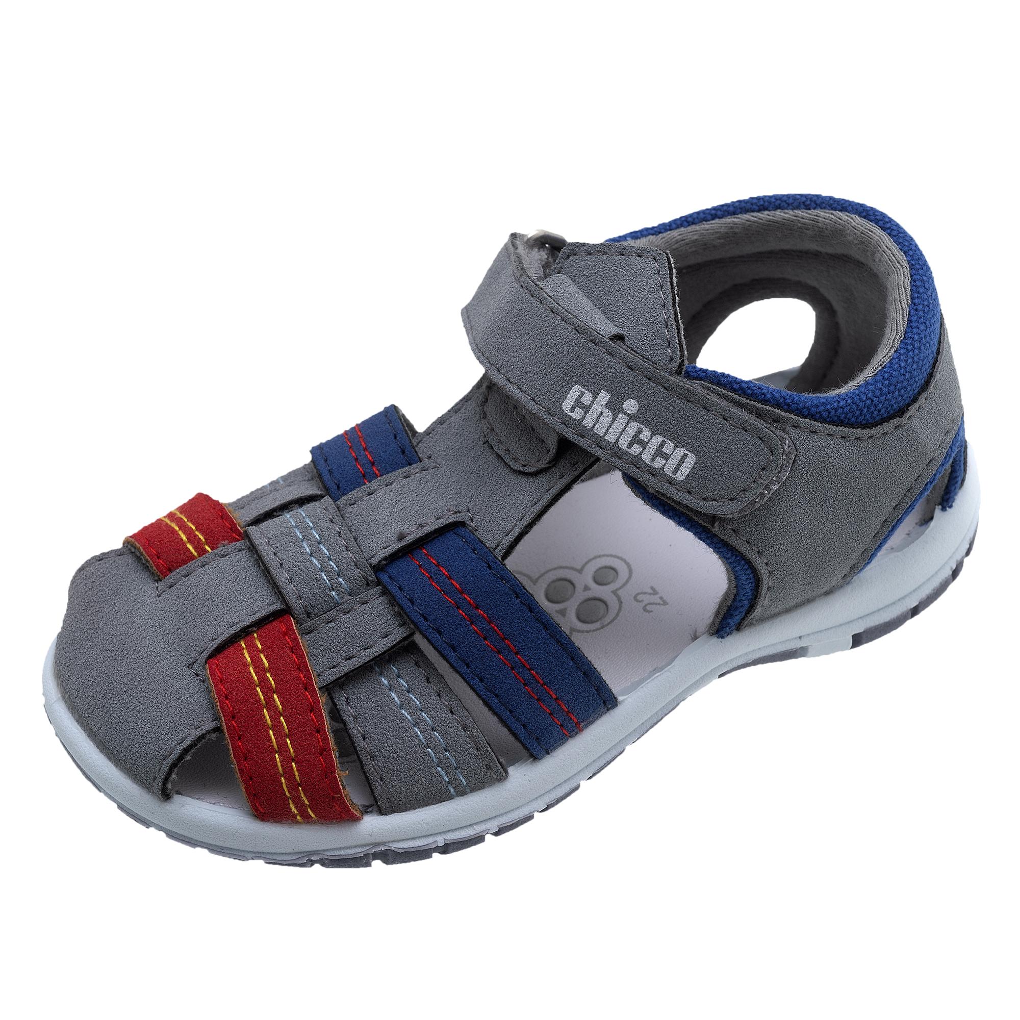 Sandale copii Chicco Fausto gri inchis