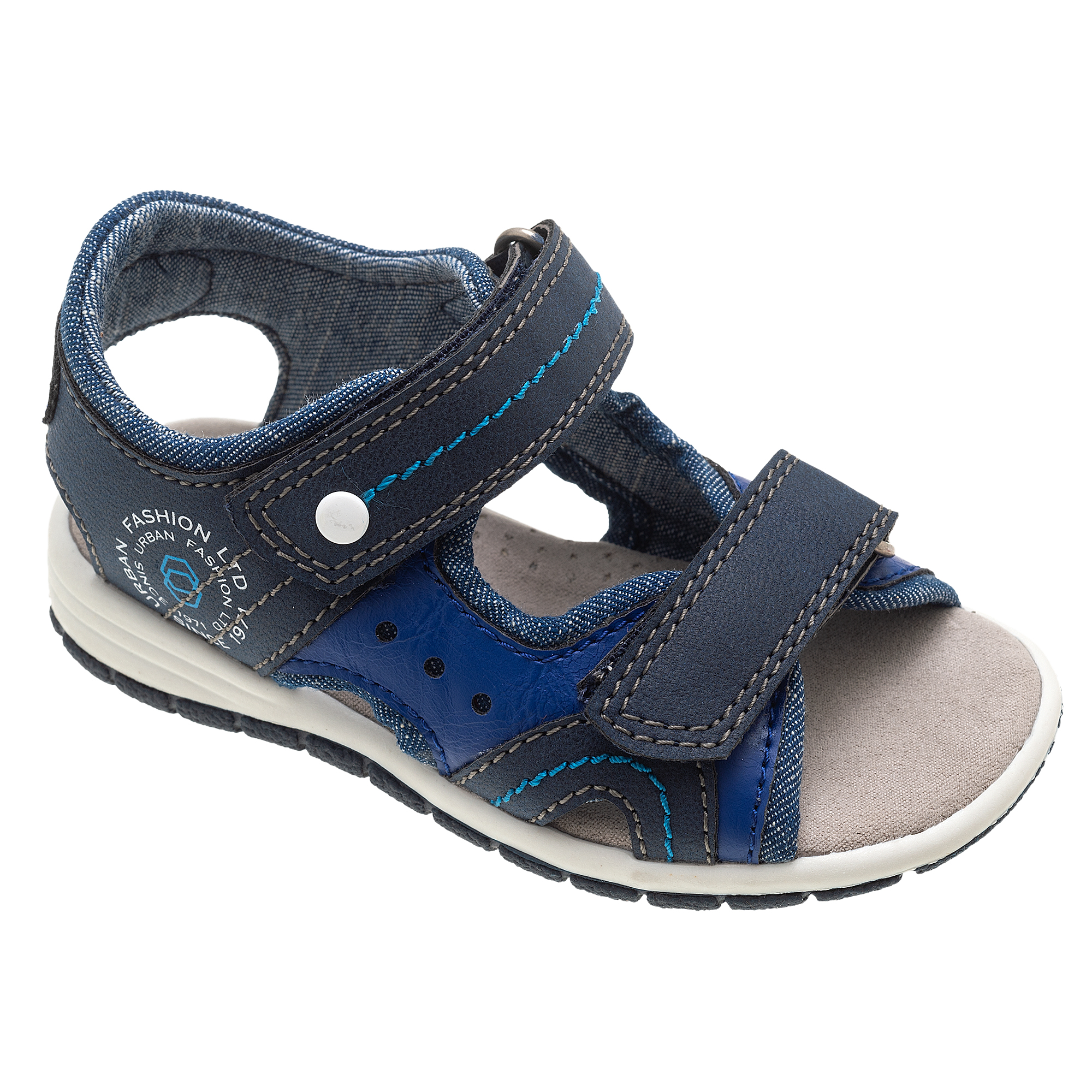 Sandalute Copii Chicco Fester, Albastru Inchis, 61691 imagine