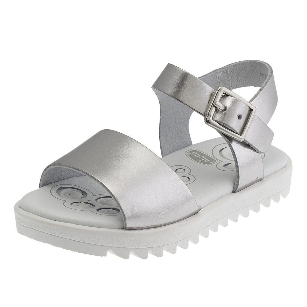 Sandale fetite Chicco, argintiu