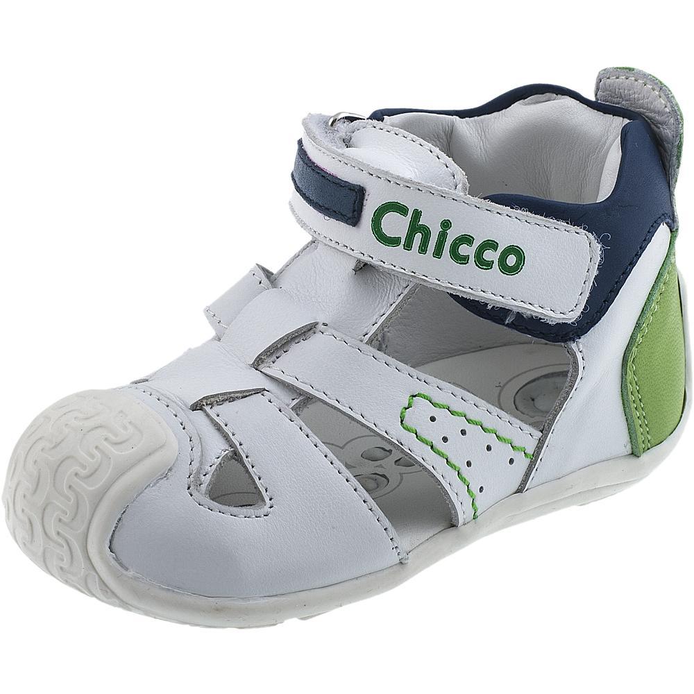 Sandale pentru copii Chicco alb 18