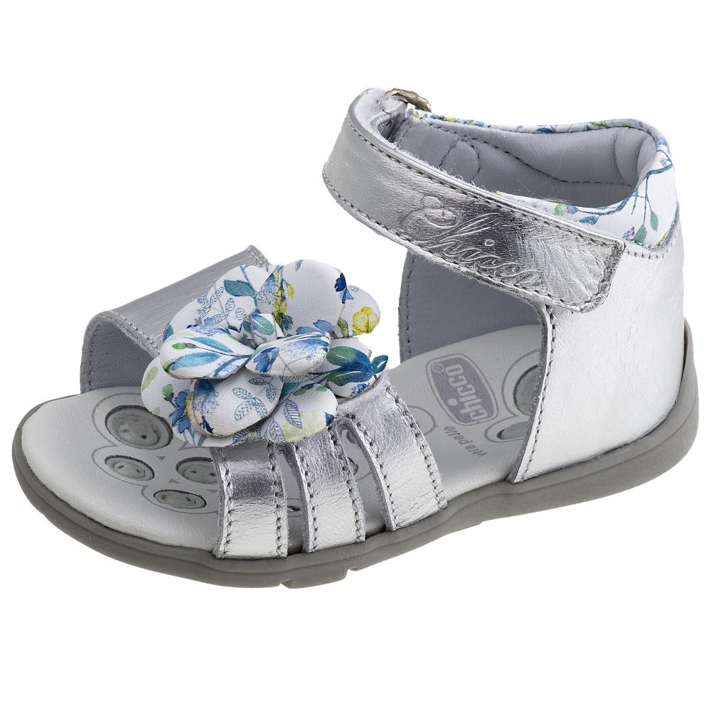 Sandale copii Chicco, argintiu