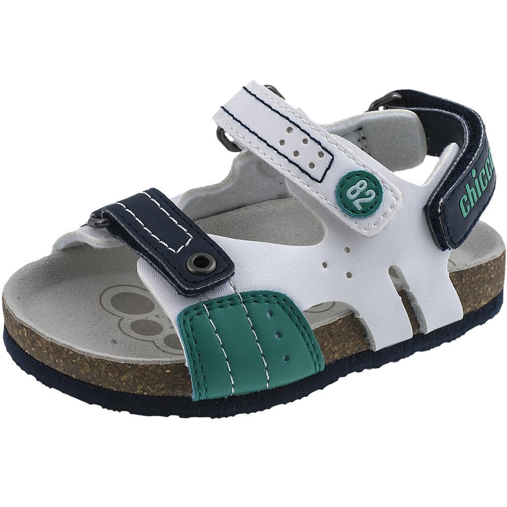 Sandalute copii Chicco, baieti, alb