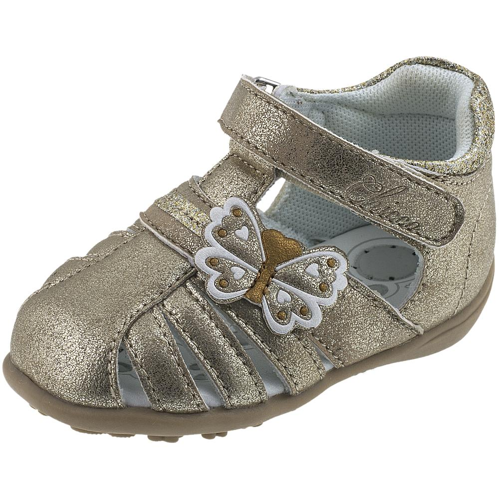 Sandalute pentru copii Chicco Ginna, auriu, 57501