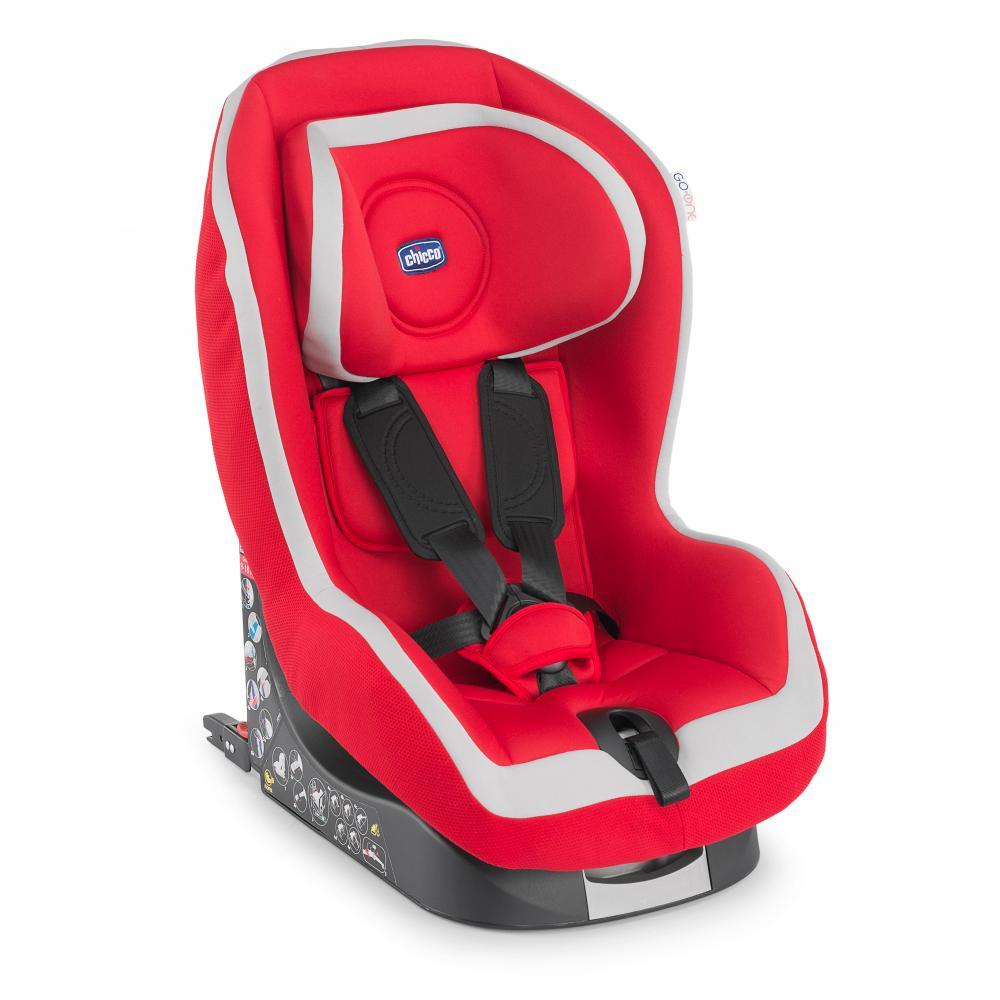 Scaun auto Chicco Go-One Baby cu Isofix, Red, 12luni+ din categoria Scaun auto cu Isofix