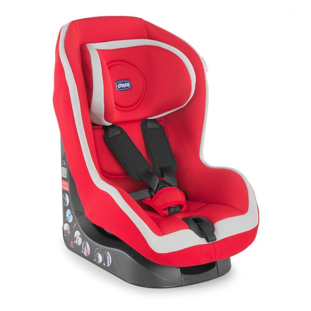 Scaun auto Chicco Go-One Baby, Red, 12luni+ din categoria Scaune auto fara Isofix