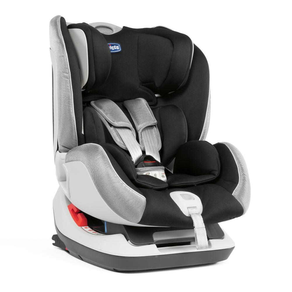 Scaun Auto Chicco Seat Up 012 Isofix, Polar Silver imagine