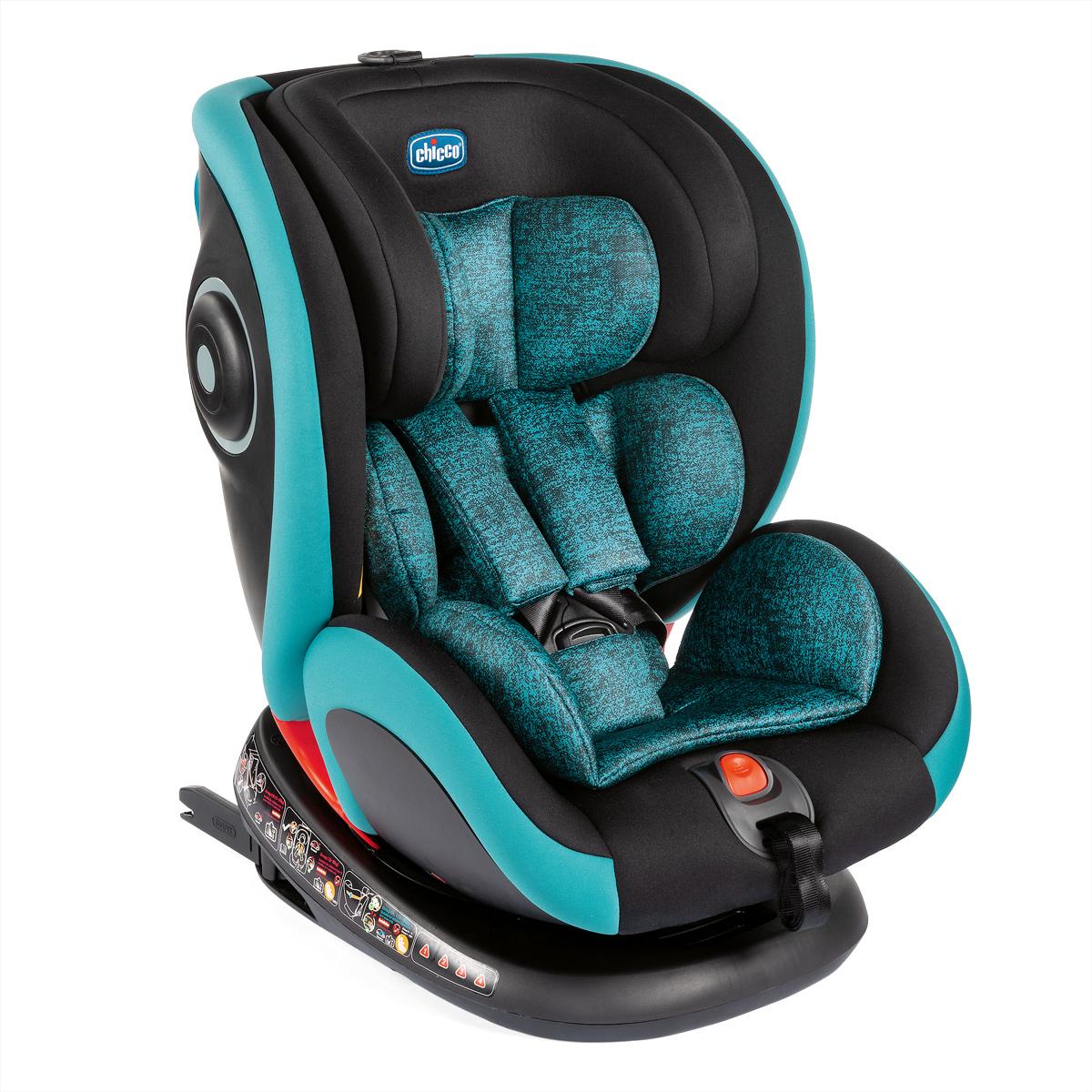 Scaun Auto Isofix Rotativ Chicco Seat4fix, Octane, Grupa 0+/1/2/3, 0-36kg
