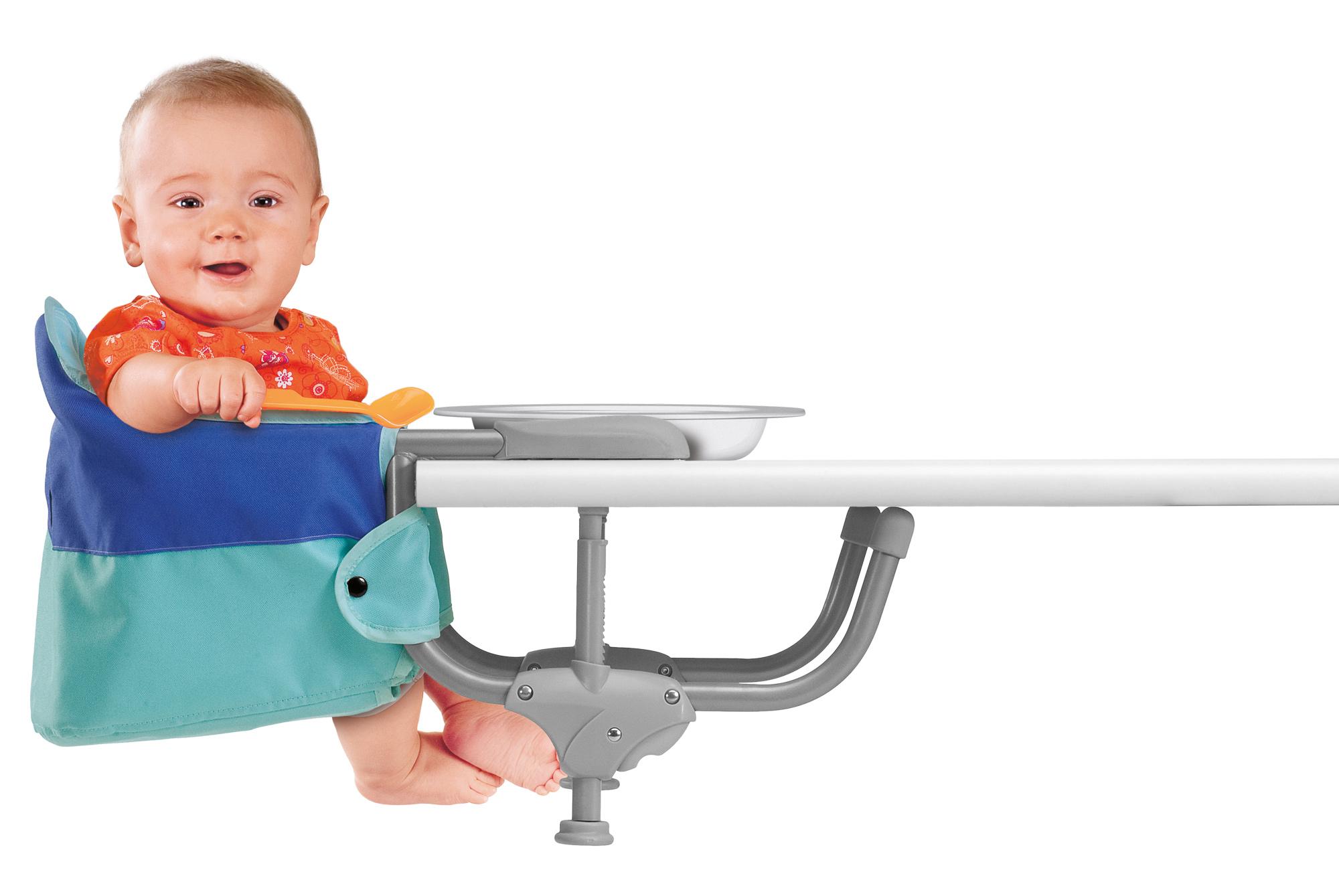 Scaun copii atasabil la masa Chicco Easy Lunch, Marine, 6luni+