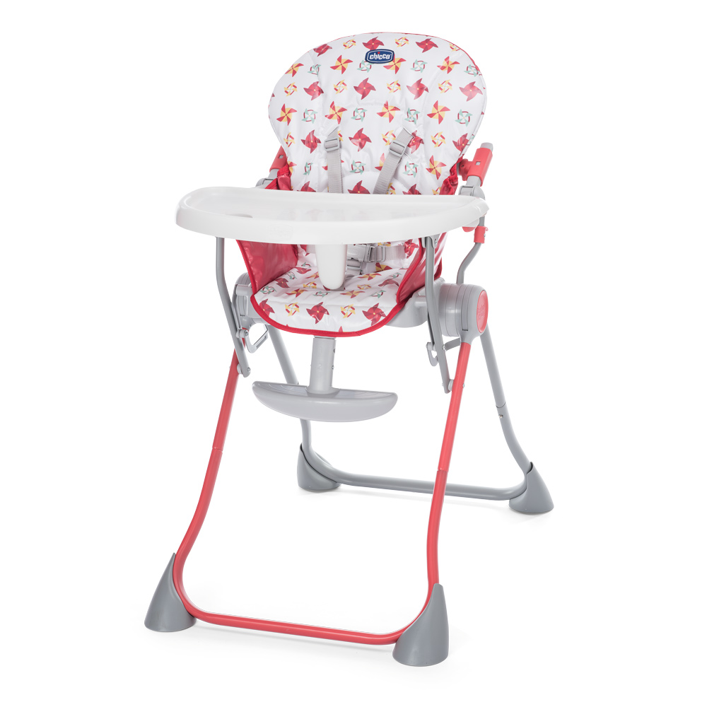 Scaun de masa Chicco Pocket Meal, Red, 6luni+