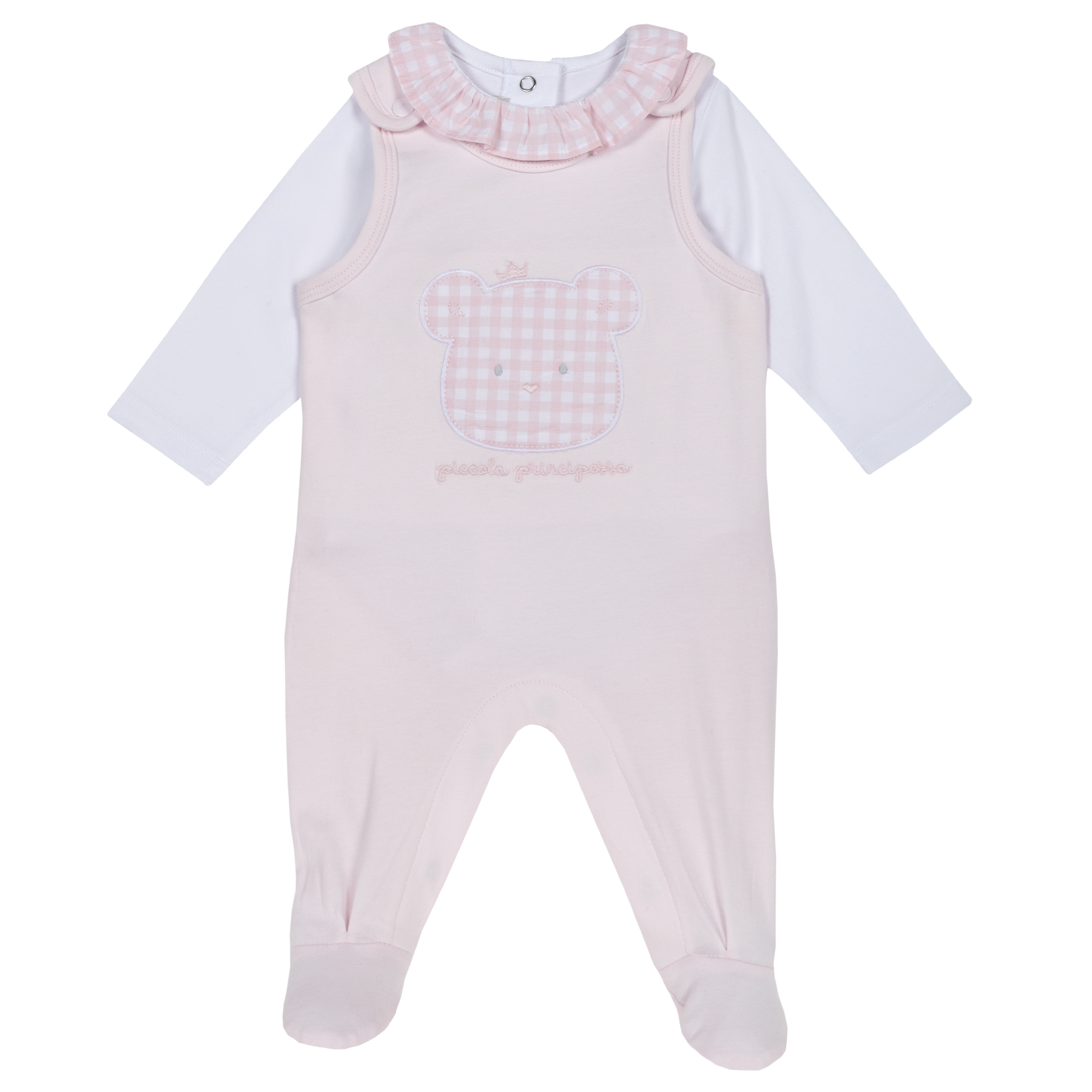 Set body bebe Chicco, roz, 77863 din categoria Salopete/Body