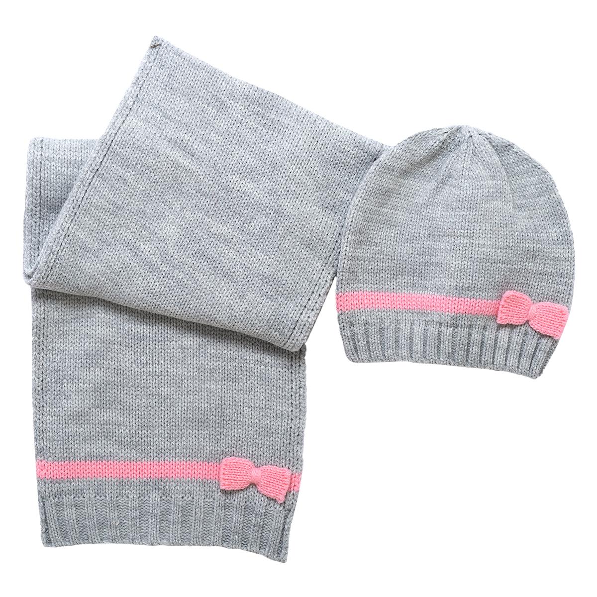 Set esarfa si caciula Chicco, tricotate, 04551 din categoria Caciuli, Sepci